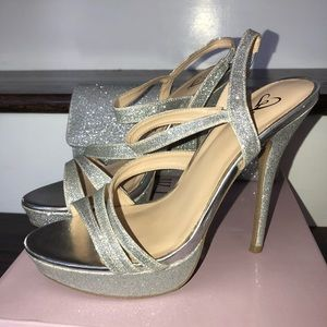 Silver Homecoming/Prom/Formal Heels